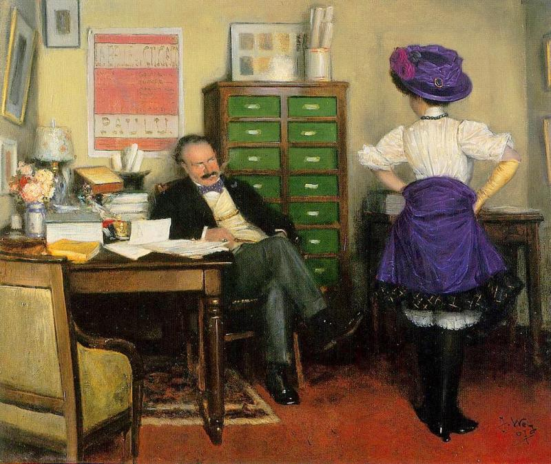 Wely_The_Audition_1907
