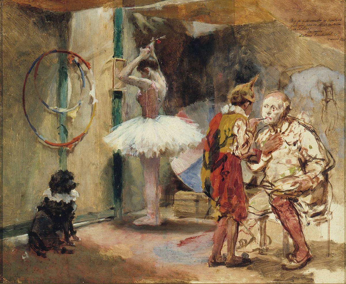 The Victorian Circus in Paintings