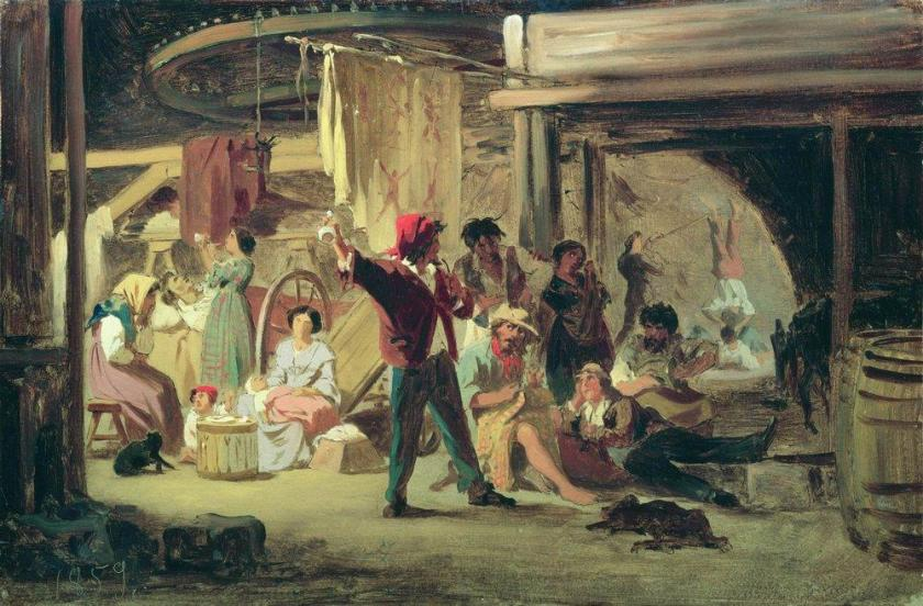 backstage-of-the-circus-1859