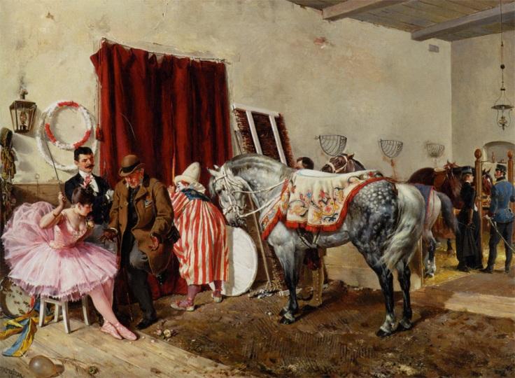 Ottokar_Walter_-_Im_Zirkus_1889
