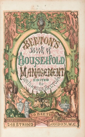 L0042710 Title page of 'Household Management'