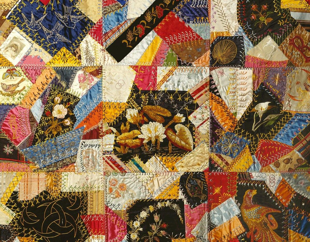 Victorian Crazy Quilts