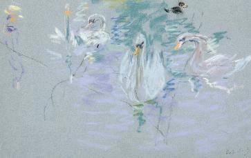 swans-berthe-morisot-