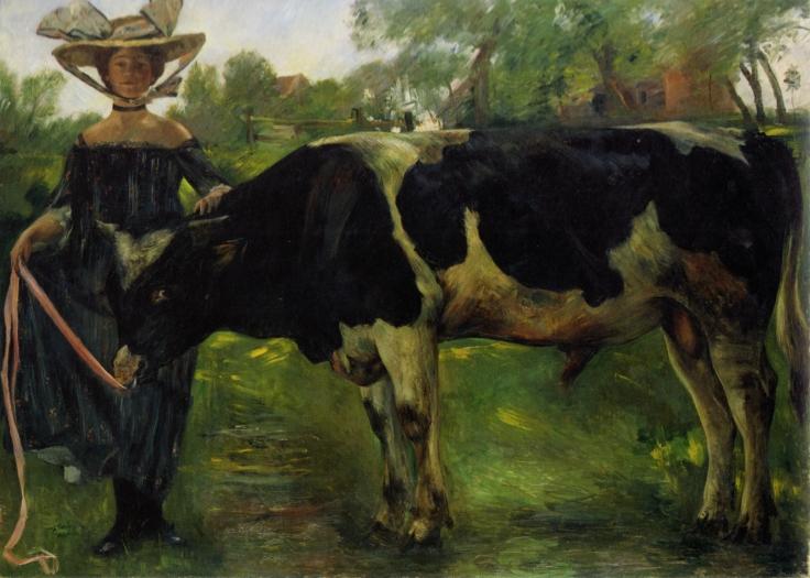 Lovis_Corinth_Mädchen_mit_Stier_1902