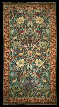 Bullerswood Carpet, William Morris and John Henry Dearle, about 1889, England. Museum no. T.31-1923. © Victoria and Albert Museum, London