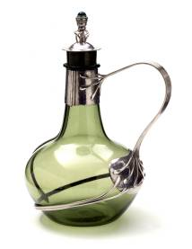 Decanter, Charles Robert Ashbee, 1904 – 5, England. Museum no. M.121:1, 2-1966. © Victoria and Albert Museum, London