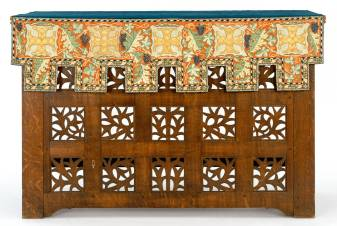 Altar table, deigned by Phillip Webb, made by John Garrett and Son, 1897, England. Museum no. W.4-2003. © Victoria and Albert Museum, London